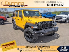 2021 Jeep Wrangler UNLIMITED WILLYS 4X4 Sport Utility For Sale In Cambridge, OH