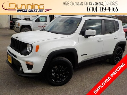 New 2020 Jeep Renegade ALTITUDE 4X4 Sport Utility for sale or lease in Cambridge, OH