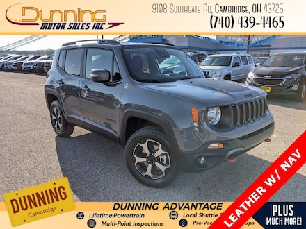 New 2021 Jeep Renegade TRAILHAWK 4X4 Sport Utility for sale or lease in Cambridge, OH