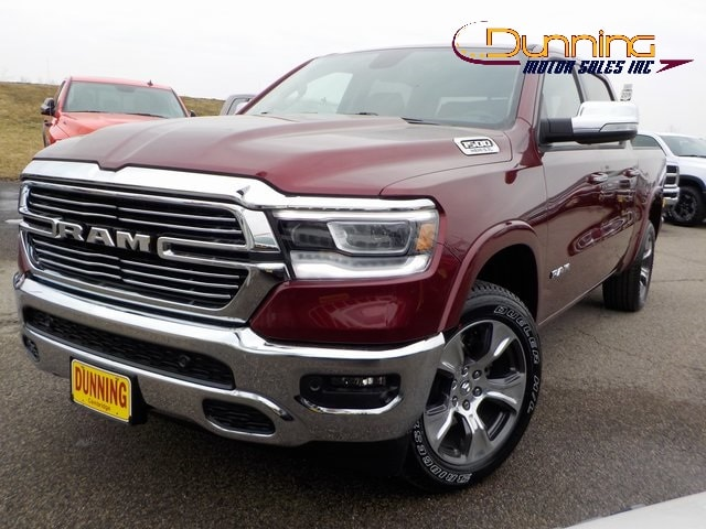 New 2019 Ram 1500 LARAMIE CREW CAB 4X4 5'7 BOX For Sale | Cambridge OH 39601