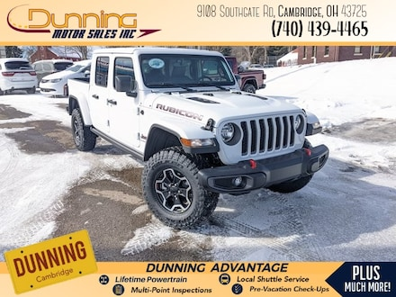New 2021 Jeep Gladiator RUBICON 4X4 Crew Cab for sale or lease in Cambridge, OH