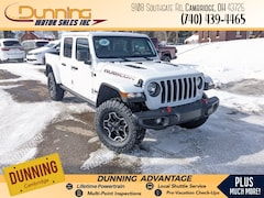 2021 Jeep Gladiator RUBICON 4X4 Crew Cab For Sale In Cambridge, OH