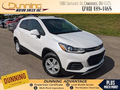 New 2021 Chevrolet Trax LT SUV for sale in Cambridge, OH