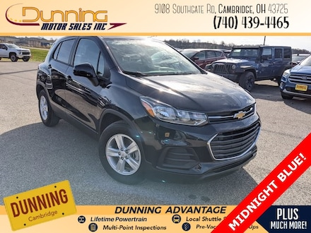 New 2021 Chevrolet Trax LS SUV for sale in Cambridge, OH