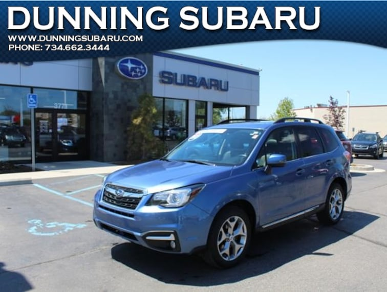 Certified Pre-Owned 2017 Subaru Forester 2.5i Touring SUV in Ann Arbor, MI