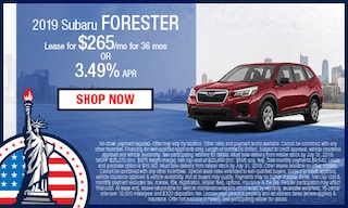 New 2019 Subaru Forester Special