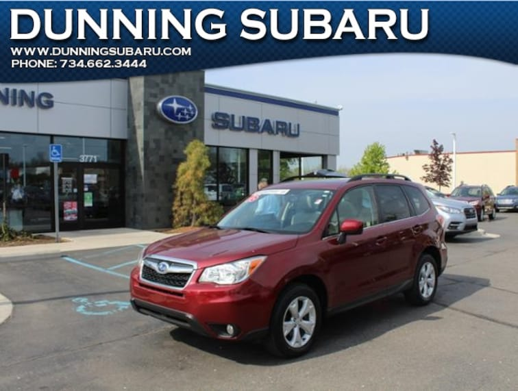 Used 2016 Subaru Forester 2.5i Limited SUV in Ann Arbor