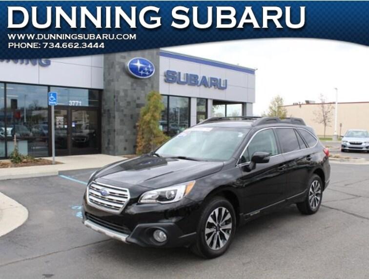 Certified Pre-Owned 2016 Subaru Outback 2.5i SUV in Ann Arbor, MI
