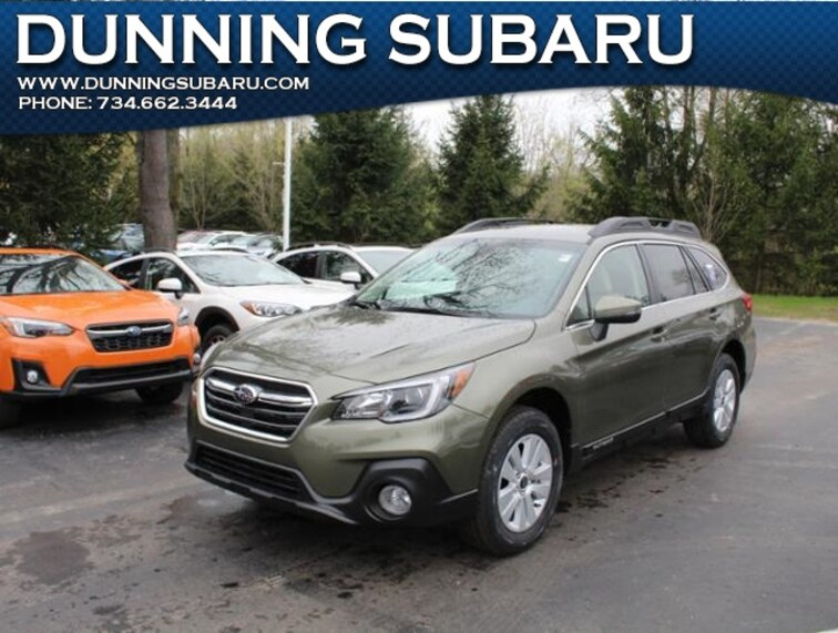 New 2019 Subaru Outback 2.5i Premium SUV Ann Arbor