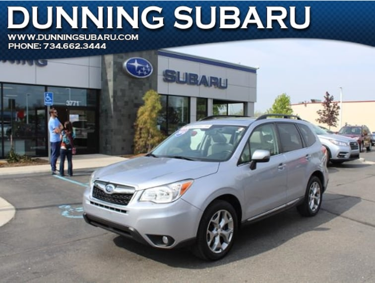 Certified Pre-Owned 2015 Subaru Forester 2.5i Touring SUV in Ann Arbor, MI