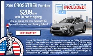 2019 Crosstrek Premium