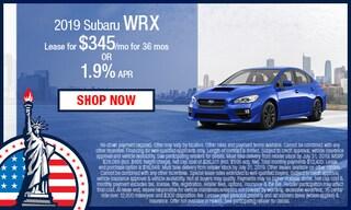 New 2019 Subaru WRX Special