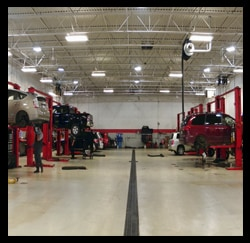 Photo Of Service Center, Toyota Dealers, Michigan - Dunning Toyota