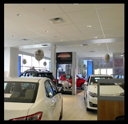 Photo Of Showroom, Toyota Dealers, Michigan - Dunning Toyota