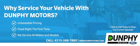 Ford Service Center | Dunphy Motors