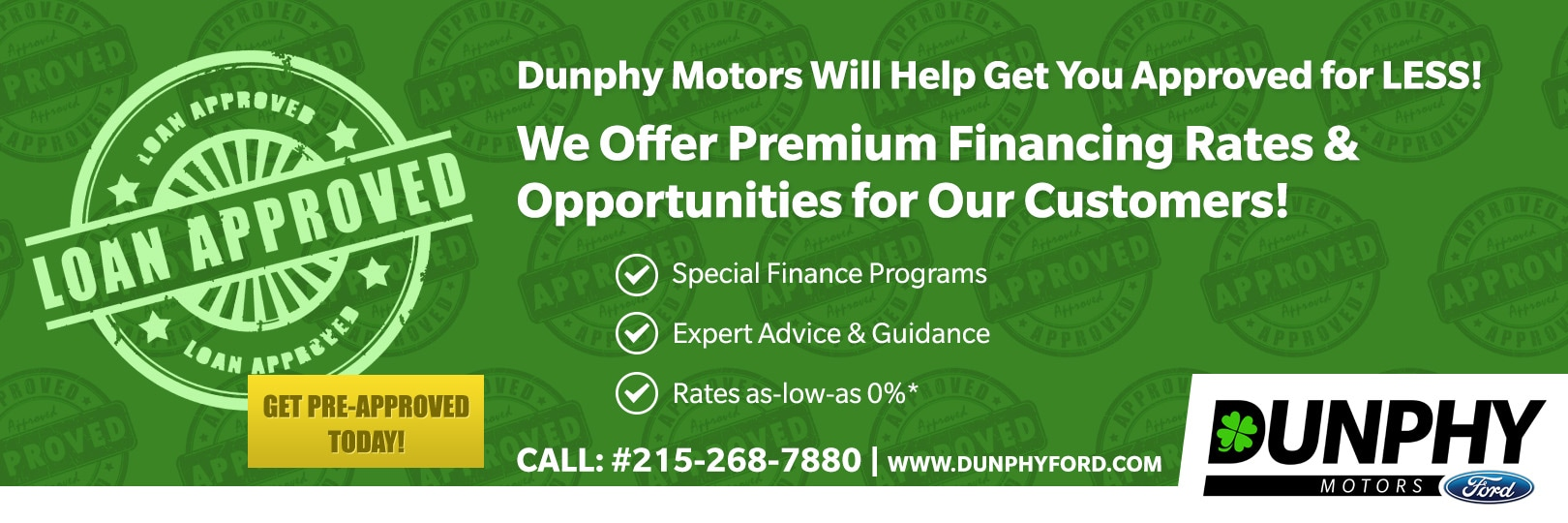Dunphy Ford Financing Department