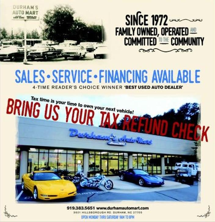 Car Dealerships In Durham Nc >> Durham S Auto Mart Independent Dealership In Durham North Carolina