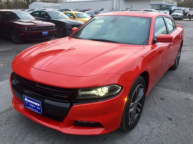 New 2019 Dodge Charger SXT AWD Sedan for sale in Plattsburgh, NY