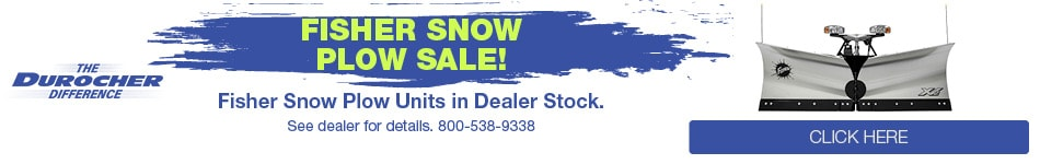 Fisher Snow Plow Sale!