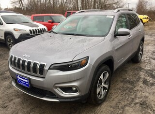 New 2019 Jeep Cherokee LIMITED 4X4 Sport Utility for sale in Plattsburgh, NY