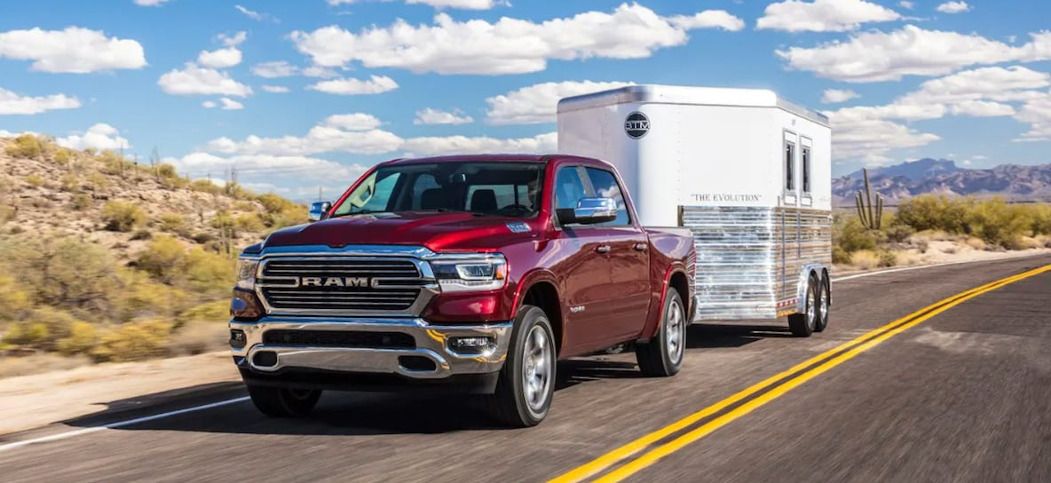 RAM 1500 towing capacity