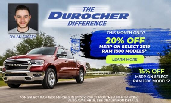 Durocher Auto Sales | Jeep, Dodge, RAM, and Chrysler Dealer