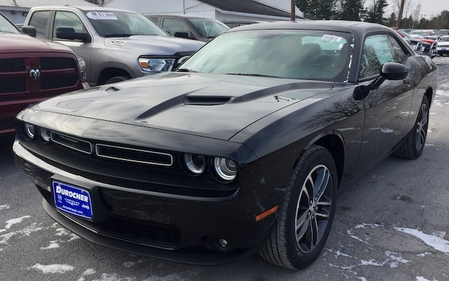 New 2019 Dodge Challenger SXT AWD Coupe for sale in Plattsburgh, NY