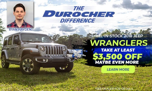 All In Stock 2018 Jeep Wranglers