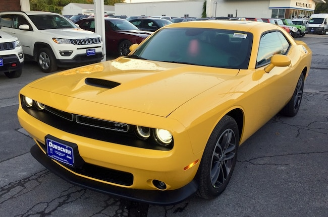 New 2019 Dodge Challenger GT AWD Coupe for sale in Plattsburgh, NY