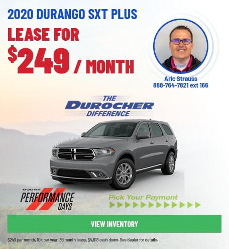 2020 Durango SXT Plus