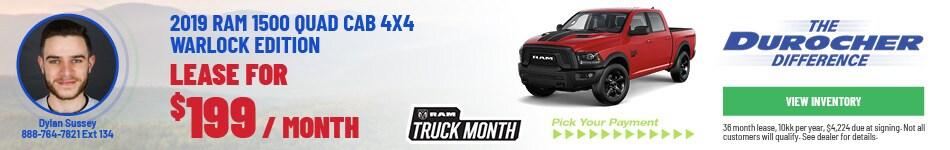 2019 Ram 1500 Quad Cab 4x4 Warlock Edition