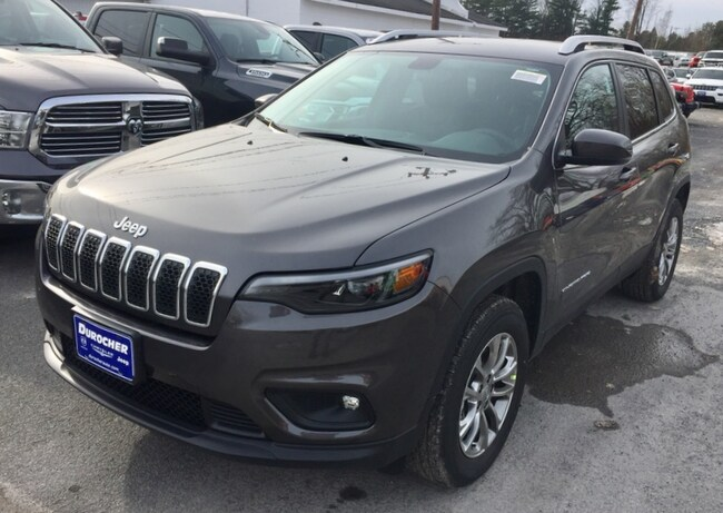 New 2019 Jeep Cherokee LATITUDE PLUS 4X4 Sport Utility for sale in Plattsburgh, NY