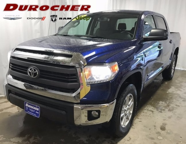 Used 2014 Toyota Tundra Crewmax 4x4 SR5 5.7L V8 PICKUP in Plattsburgh, NY