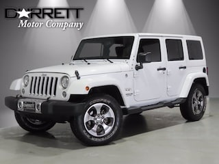 Used 2017 Jeep Wrangler JK Unlimited Sahara 4x4 SUV For Sale in Houston, TX