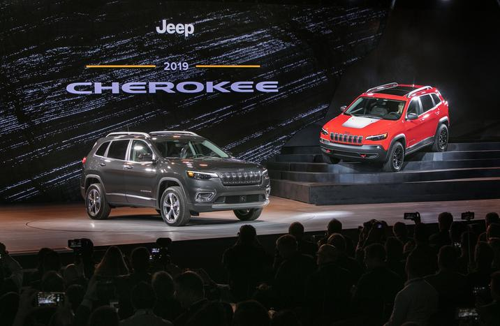 2019 Jeep Cherokee Beacon NY