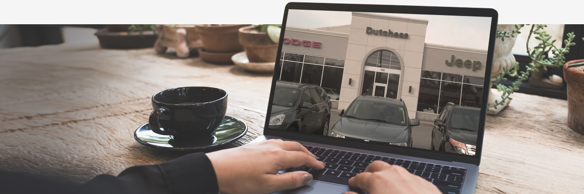 Shopping on computer