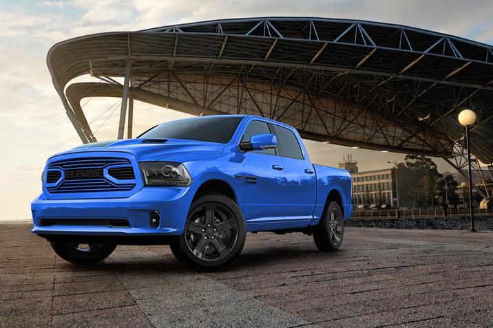 2018 Ram 1500 Hydro Blue Sport NY