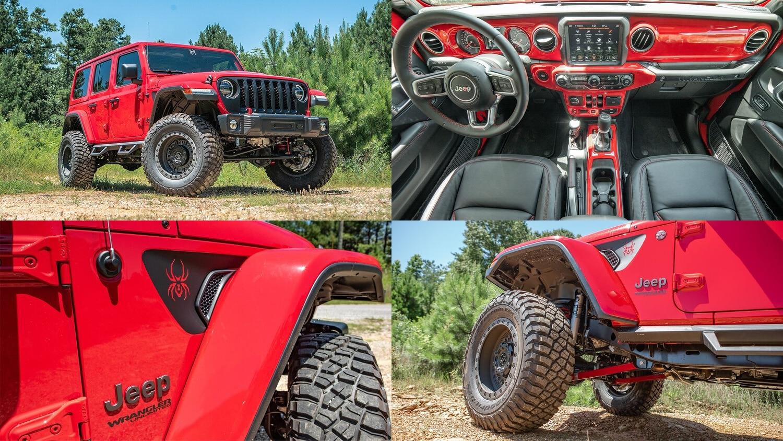 Jeep Wrangler Black Widow NY