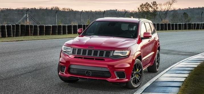 2018 Jeep Grand Cherokee Trackhawk NY