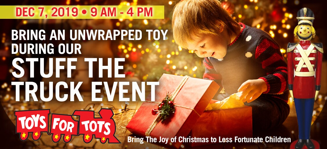 Toys For Tots Stuff the Truck Event