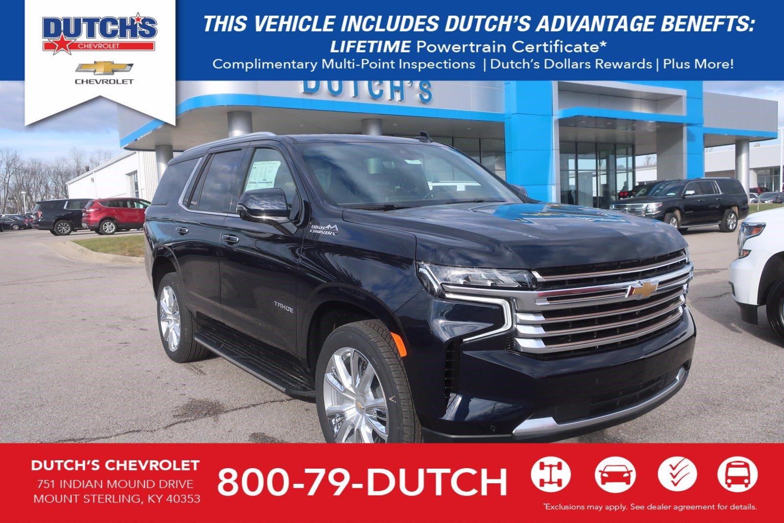 New 2021 Chevrolet Tahoe For Sale At Dutch S Auto Vin 1gnsktkl6mr185238