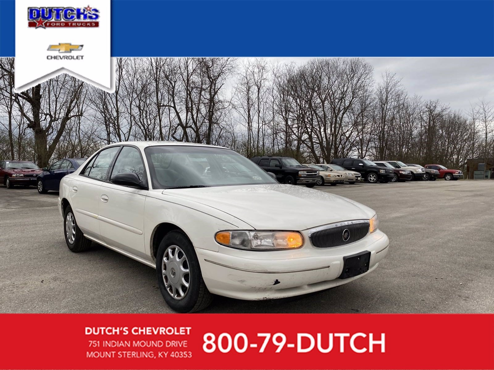 2003 Buick Century Custom 4dr Car