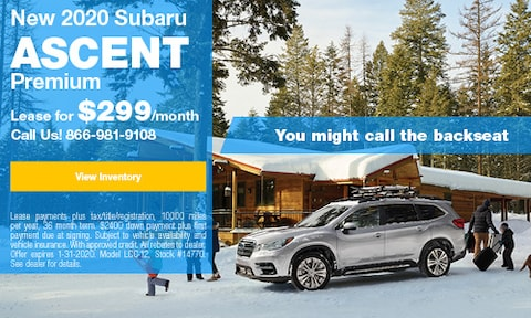 January Ascent Lease Offer