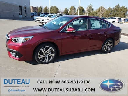 Featured New 2021 Subaru Legacy Limited Sedan for sale in Lincoln, NE