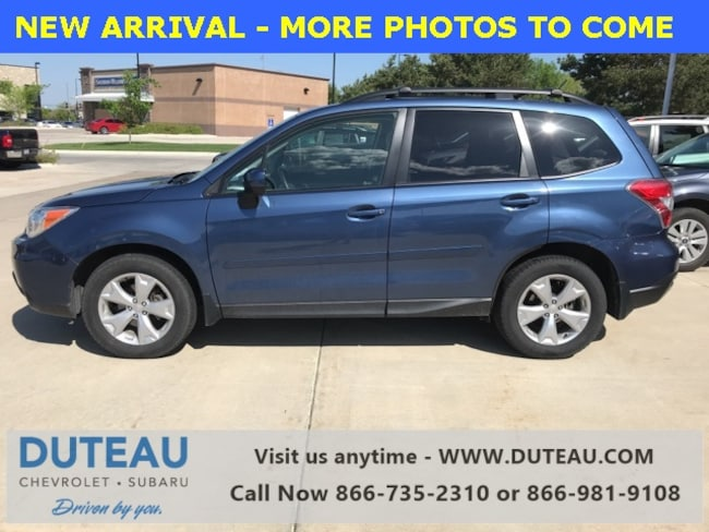 Pre-Owned 2014 Subaru Forester 2.5i Premium SUV for sale in Lincoln, NE