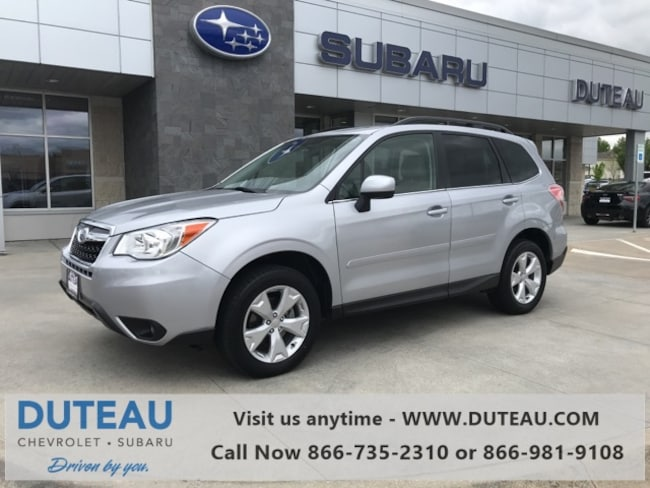 Pre-Owned 2016 Subaru Forester 2.5i Limited SUV for sale in Lincoln, NE