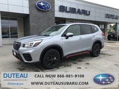 New 2019 Subaru Forester Sport SUV 13934 for sale in Lincoln, NE