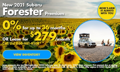 May Forester Offer