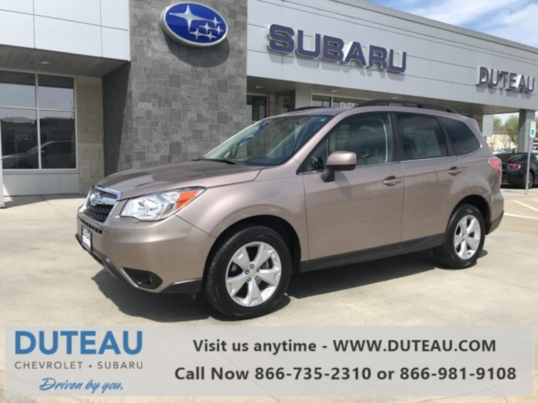 Pre-Owned 2015 Subaru Forester 2.5i Limited SUV for sale in Lincoln, NE
