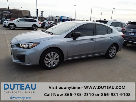 Featured Used 2018 Subaru Impreza 2.0i Sedan for sale in Lincoln, NE